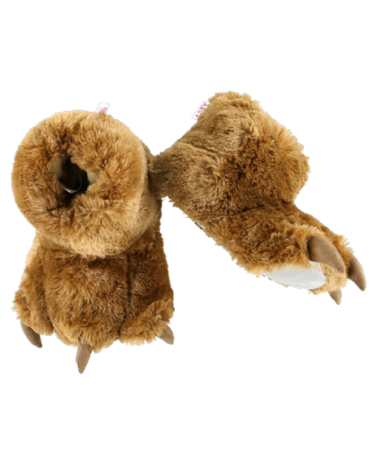 Brown Bear Paw Slippers - Kids & Adults - Lazy One®